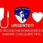 NECESITAMOS DONADORES DE SANGRE…